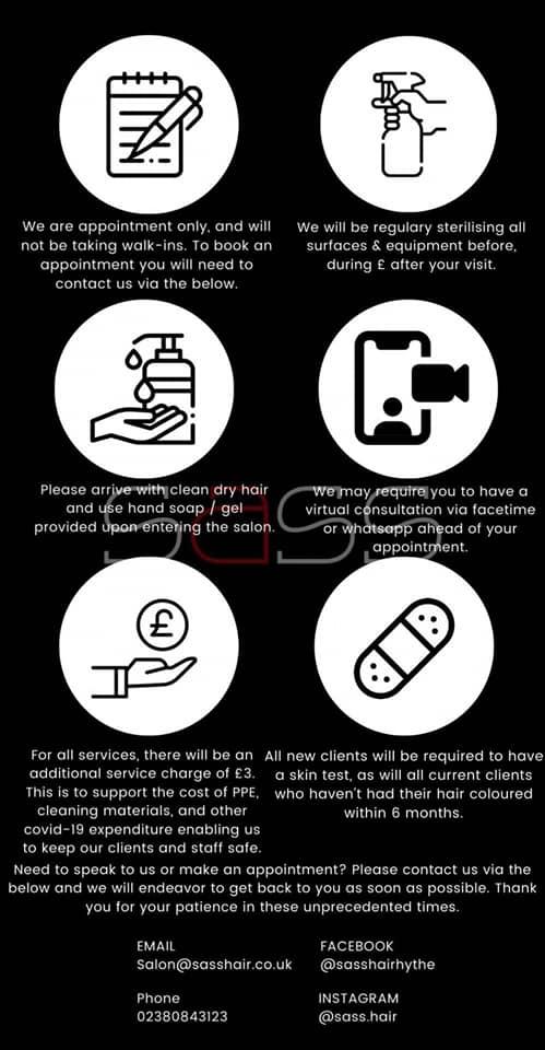 Covid 19 Salon Safety Procedures 2